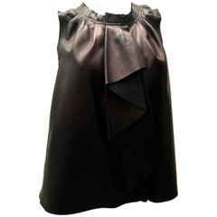 New Louis Vuitton Vest - 100% Leather - Dark Brown