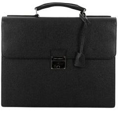 Dolce & Gabbana Dauphine Briefcase Leather
