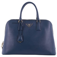 Prada Promenade Handbag Saffiano Leather Large