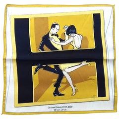 Hermès Swinging Saint Germain Scarf 1937-2007 Special Edition 70 ans Carré