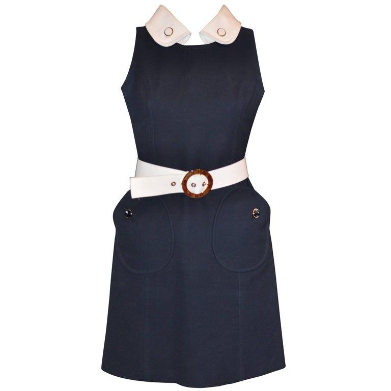 Michael Kors 1960s Style Dress  Model KDA444P 10 (US) For Sale