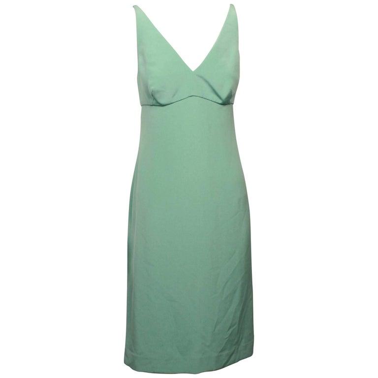 Dolce & Gabbana Spearmint Silk Slip Dress