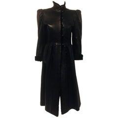 Yves Saint Laurent 1976 Russian Collection Fur & Leather Coat