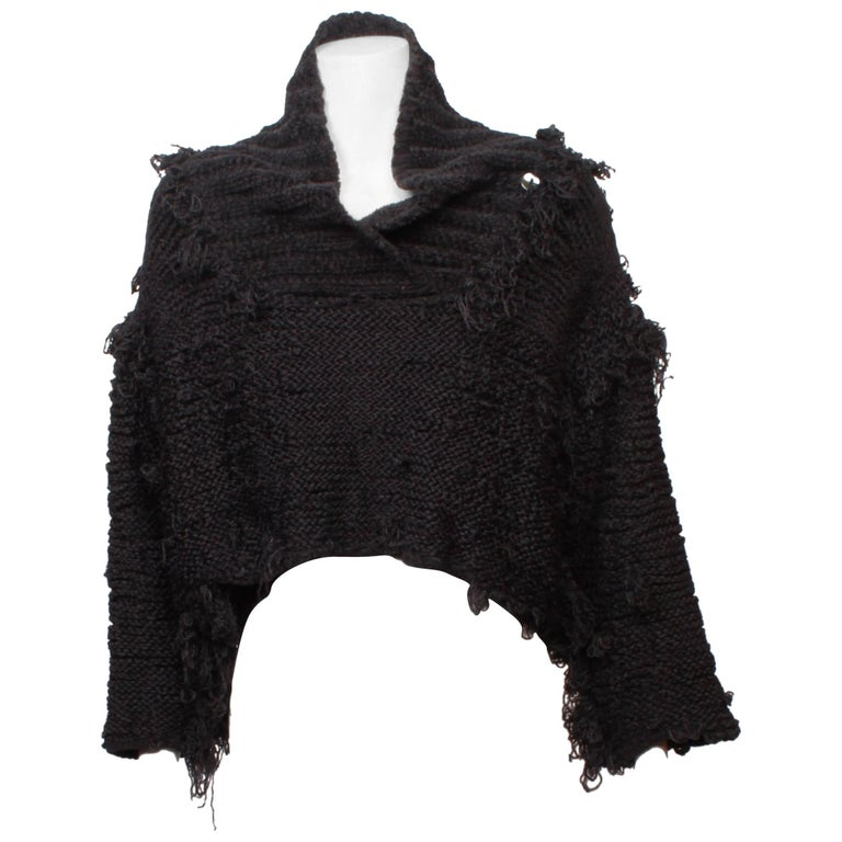 Dolce & Gabbana Cropped Textural Knit Top