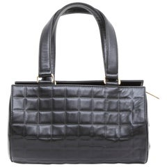 CHANEL Bag in Black Quilted Smooth Lamb Leather