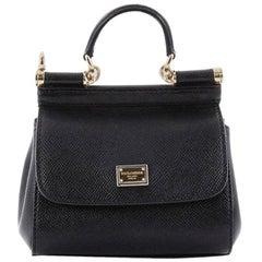 Dolce & Gabbana Miss Sicily Handbag Leather Mini