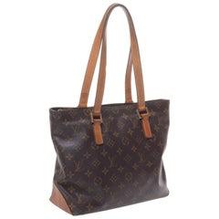 LOUIS VUITTON Monogram Print on Handbag