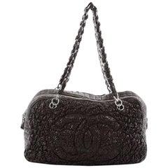 Chanel Astrakan CC Bowler Bag Lambskin