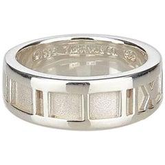 Sterling Silver Tiffany & Co. Atlas Ring