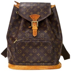 Louis Vuitton Monogram Montsouris GM Backpack Bag