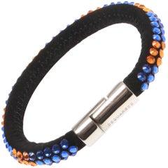 Dsquared Suede Encrusted Bracelet