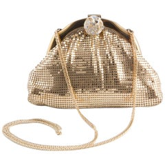 Gold Mesh Whiting & Davis Evening Clutch