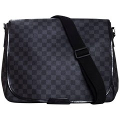 Louis Vuitton Damier Graphite Daniel Crossbody Messenger Bag