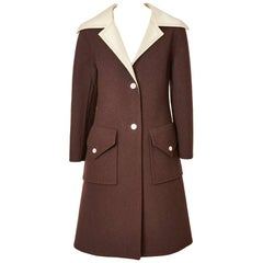 Galanos Double Face Wool Coat