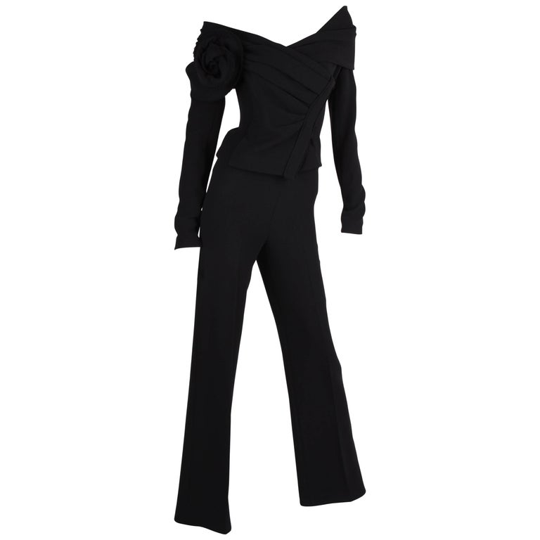 Donna Karan 2-pcs Suit - black
