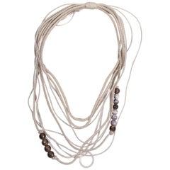 Brunello Cucinelli Necklace -agate/quartz