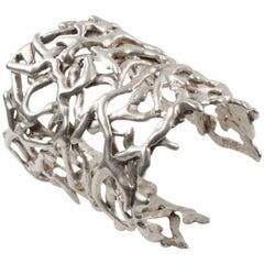 Biche de Bere Paris Signed Cut Out Brutalist Cuff Bracelet Limited Edition