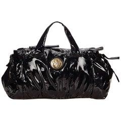 Gucci Black Patent Leather Handbag