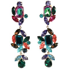 Philippe Ferrandis One of a Kind Multi-Color Drop Clips