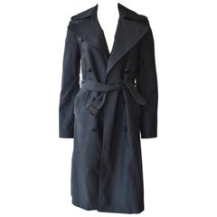 Céline Charcoal Grey Trench Coat