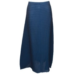 Issey Miyake White Label A-Line Maxi Skirt