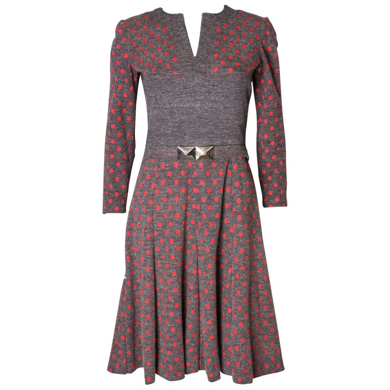 Vintage Hardy Amies Spotty Dress