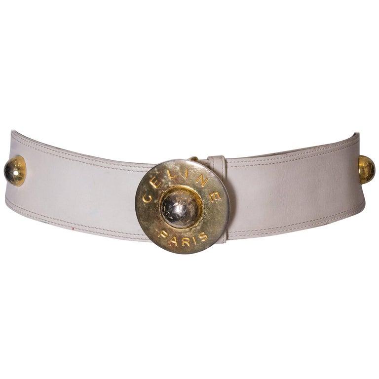 Vintage Celine Leather Belt