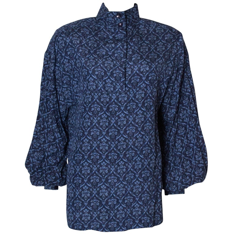 Vintage Fendi Silk Blouse