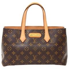 Louis Vuitton Willshire MM Monogram Canvas Shoulder Bag