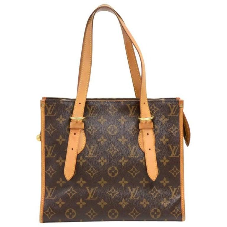 Louis Vuitton Popincourt Haut Monogram Canvas Shoulder Hand Bag  For Sale
