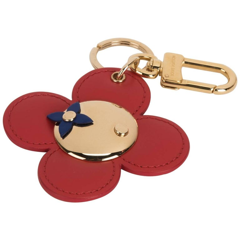 Louis Vuitton Limited Edition Flower Keychain Charm