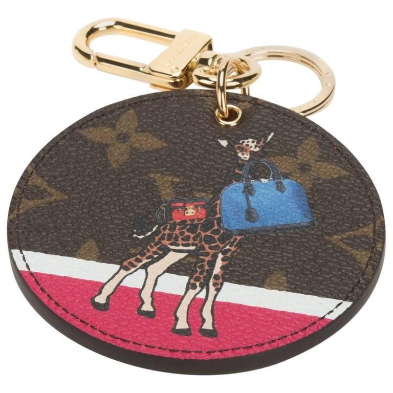 Louis Vuitton Limited Edition Giraffe Keychain Charm