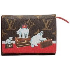 Louis Vuitton Limited Edition Polar Bear Monogram Wallet