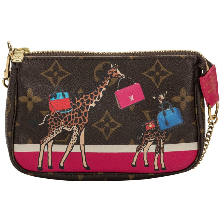 Louis Vuitton Sold Out Mini Monogram Giraffe Bag