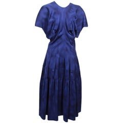 Comme des Garcons Blue Watercolour Dress