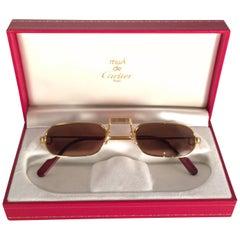 New Vintage Cartier Demilune Vendome Medium Reading France Sunglasses