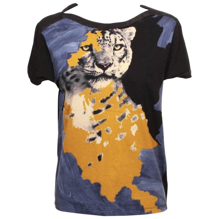 Jean Paul Gaultier Leopard T-Shirt
