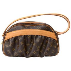 Louis Vuitton Mizi Monogram Canvas Hand Bag - Limited