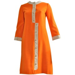 Eaton Made in France 1960s Mod Dress 38 Fr