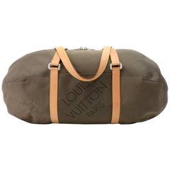 Louis Vuitton Attaquant Terre Dark Brown Damier Geant Canvas Boston Bag