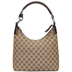 Gucci Brown Guccissima Jacquard Handbag