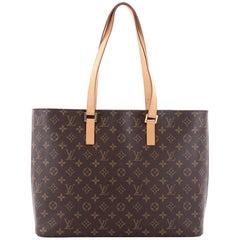 Louis Vuitton Luco Monogram Canvas Handbag