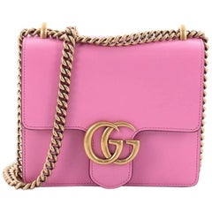 Gucci Marmont Chain Shoulder Bag Leather Small