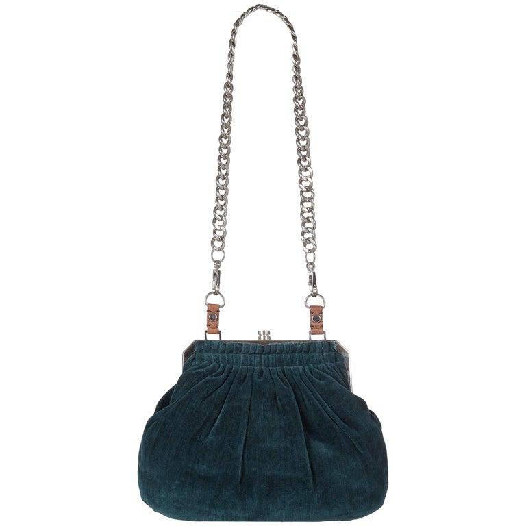 Lanvin Sugar Flap Shoulder Bag Quilted Suede Mini At 1stdibs