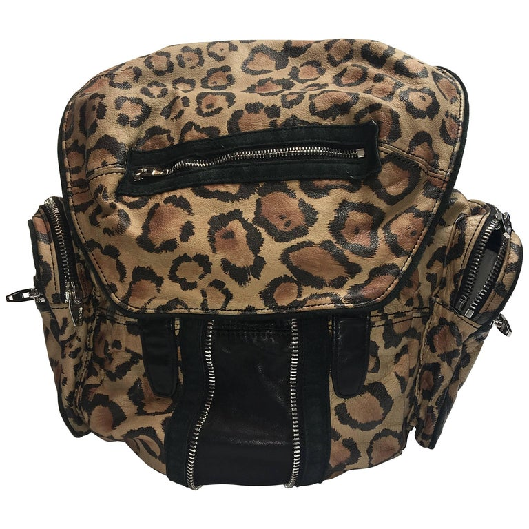 Alexander Wang Leopard Backpack