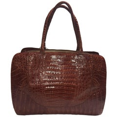 Nancy Gonzalez Alligator Breifcase Handbag