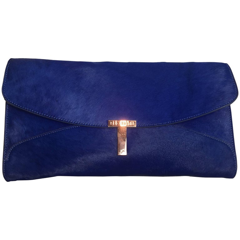 Ted Baker Cow Hair Clutch