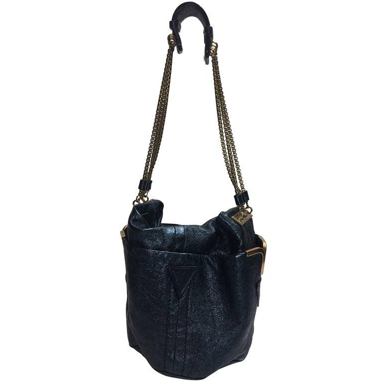Chloe Metallic Shoulder Bag