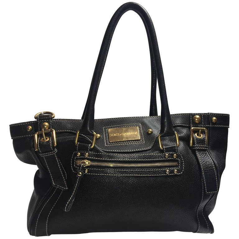 Dolce & Gabbana Double Handle Bag