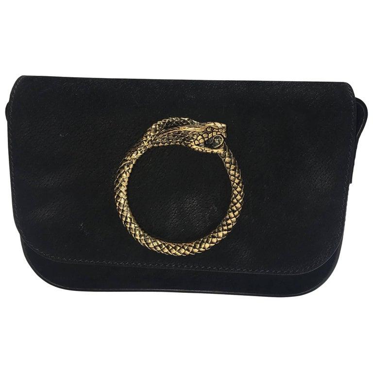 Saint Laurent Snake Shoulder Bag